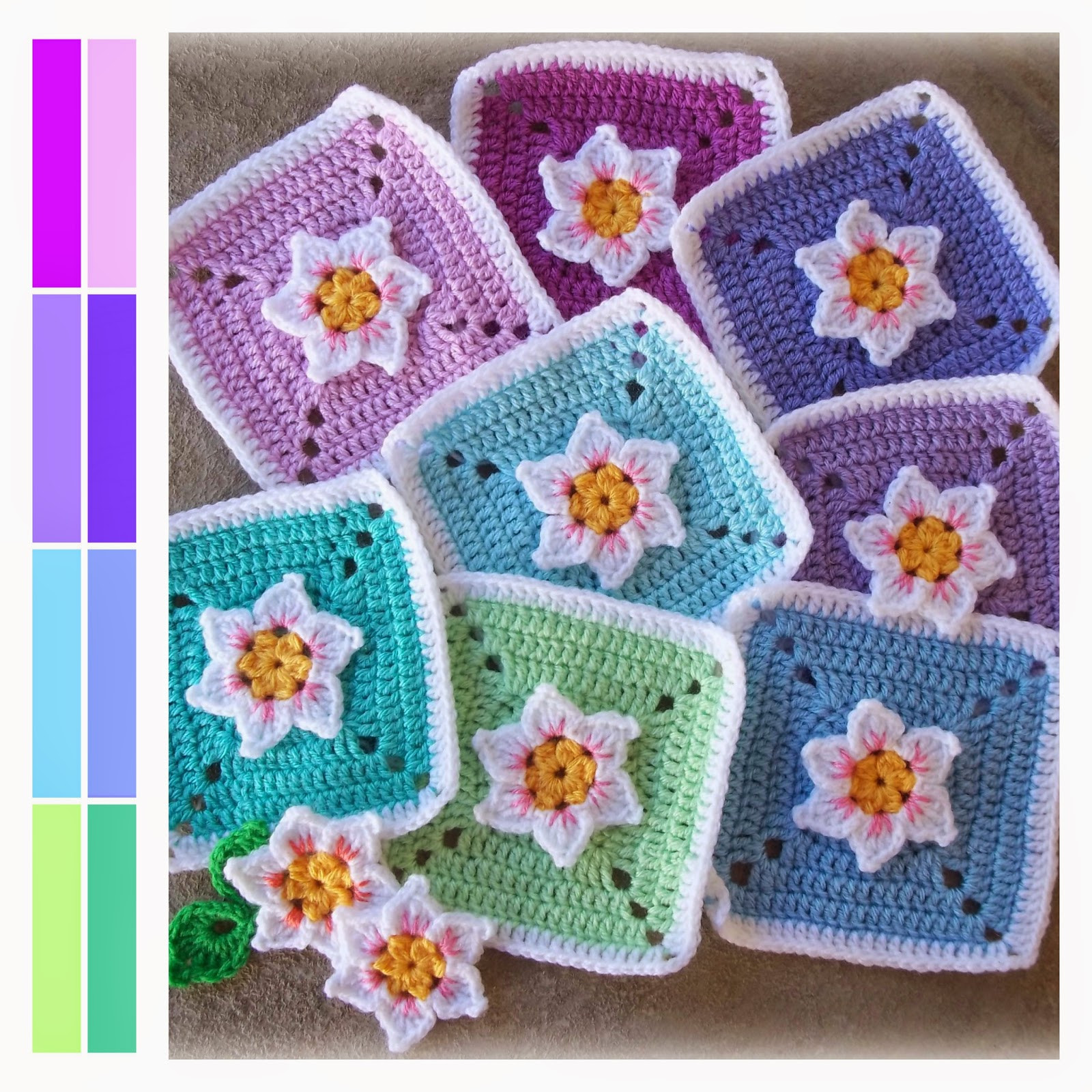 Fresh Zooty Owl S Crafty Blog Not Quite A Daffodil Square Pattern Crochet Flower Square Of Brilliant 47 Models Crochet Flower Square