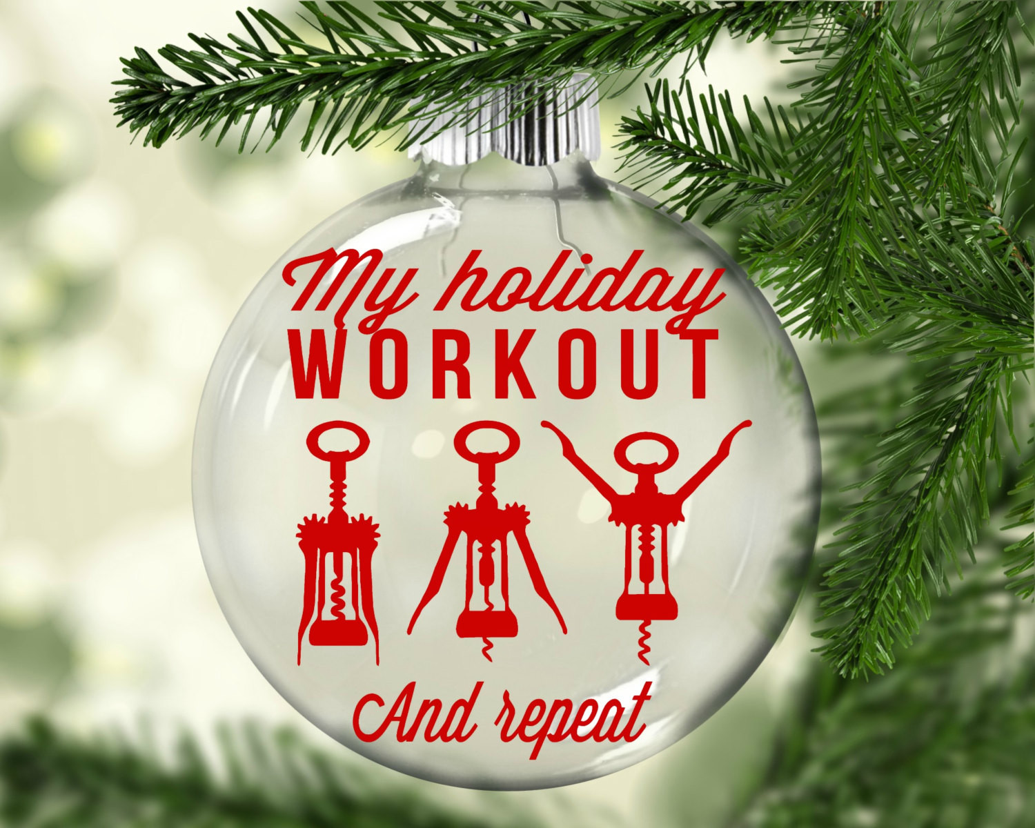 Funny Christmas ornaments Lovely Funny Christmas ornament Holiday Workout Christmas ornament Of Charming 48 Images Funny Christmas ornaments