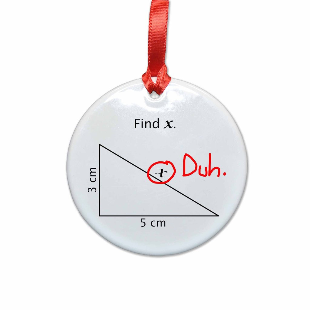 Funny Christmas ornaments Unique Math Find X Funny Christmas Tree ornament – Neurons Not Of Charming 48 Images Funny Christmas ornaments