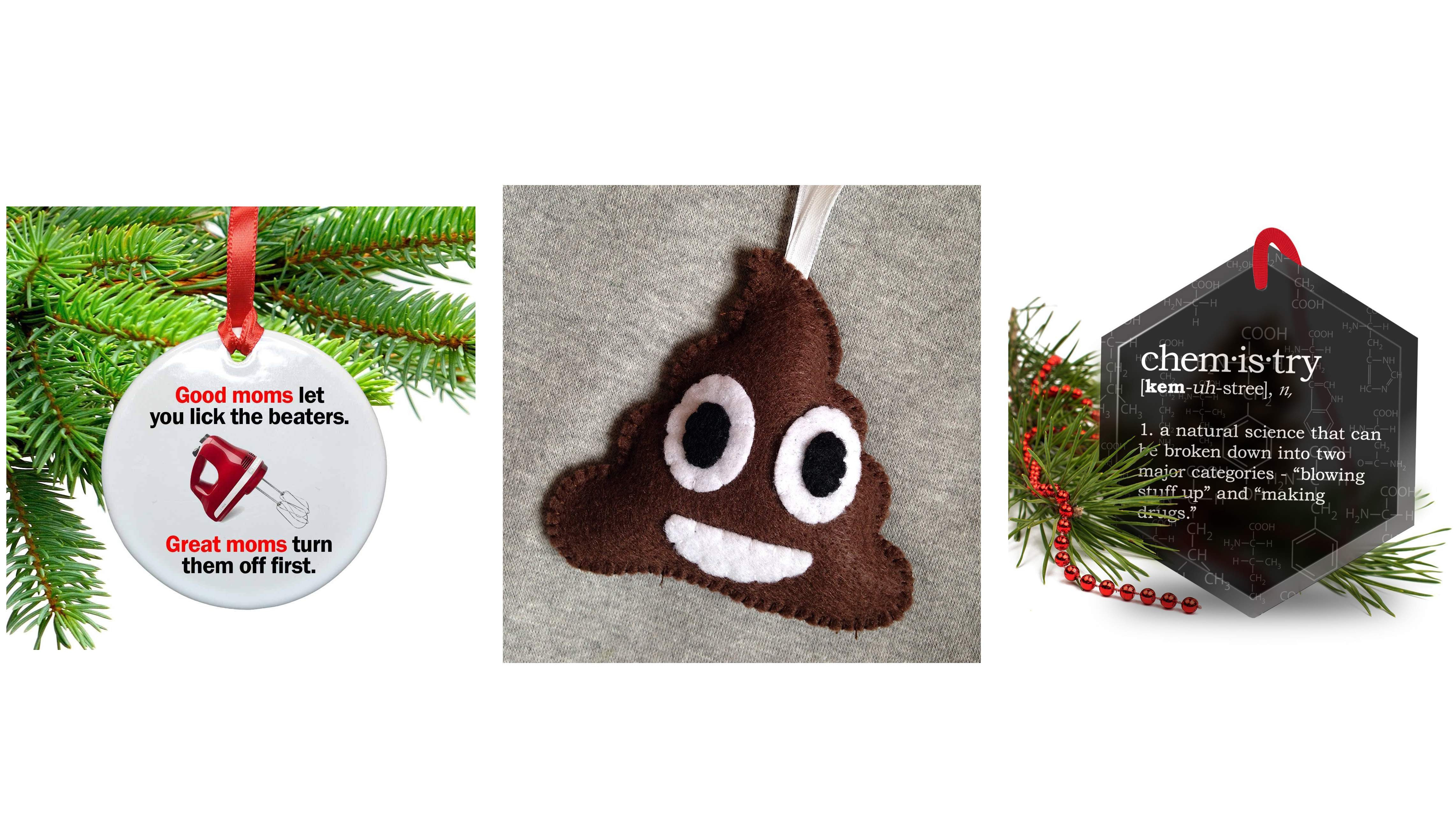 Funny Christmas Tree ornaments Best Of top 20 Best Funny Christmas ornaments Of Awesome 43 Images Funny Christmas Tree ornaments
