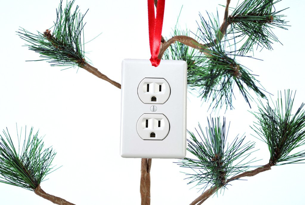 Electrical Outlet Funny Christmas Tree Ornament – Neurons