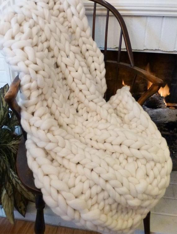 Giant Yarn Blanket Beautiful Knit Kit Diy Tutorial Chunky Blanket 24 Giant Of Unique 44 Images Giant Yarn Blanket