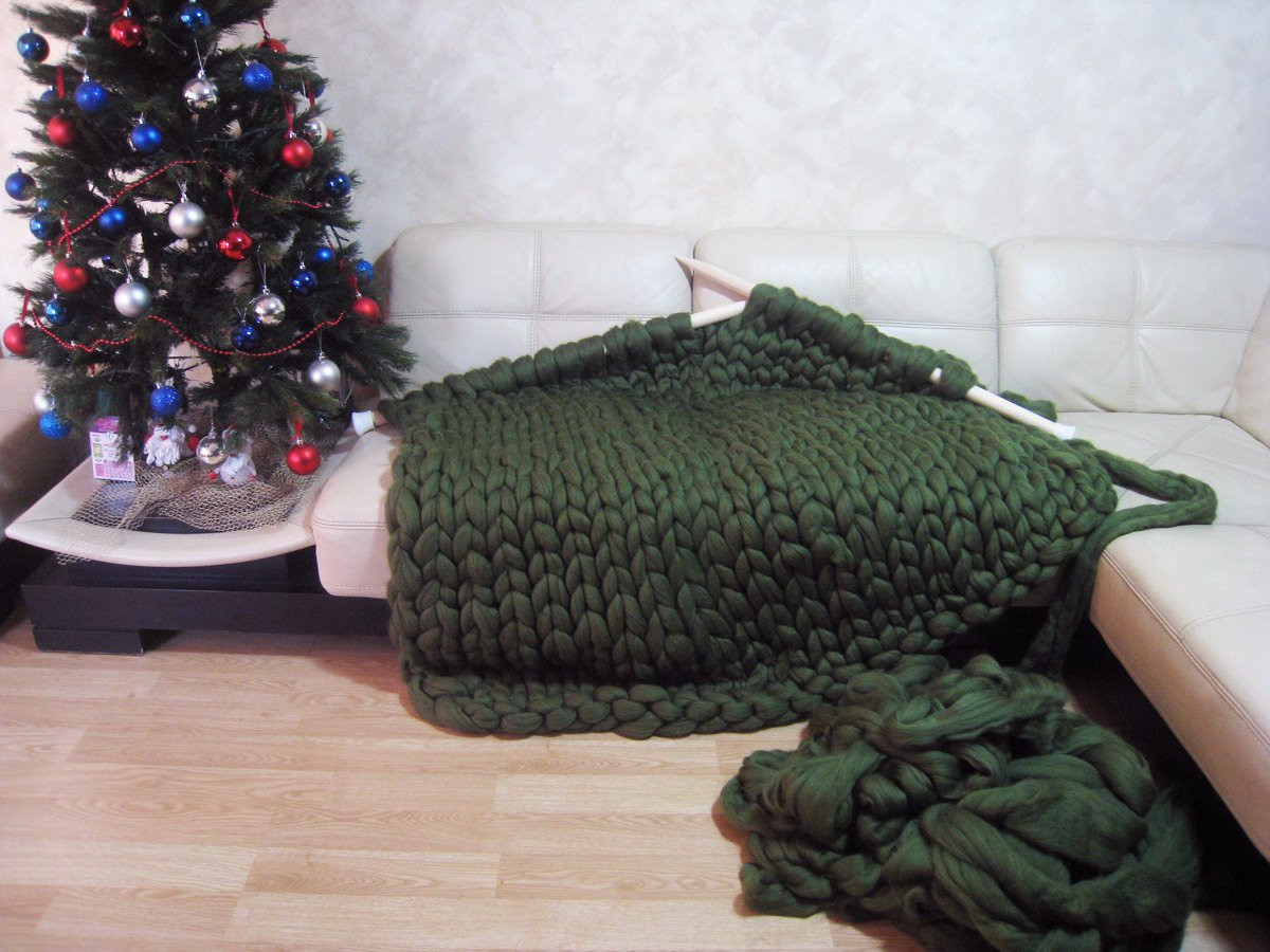 Giant Yarn Blanket Elegant Super Chunky Blanket Giant Knitted Merino Wool Throw by Of Unique 44 Images Giant Yarn Blanket