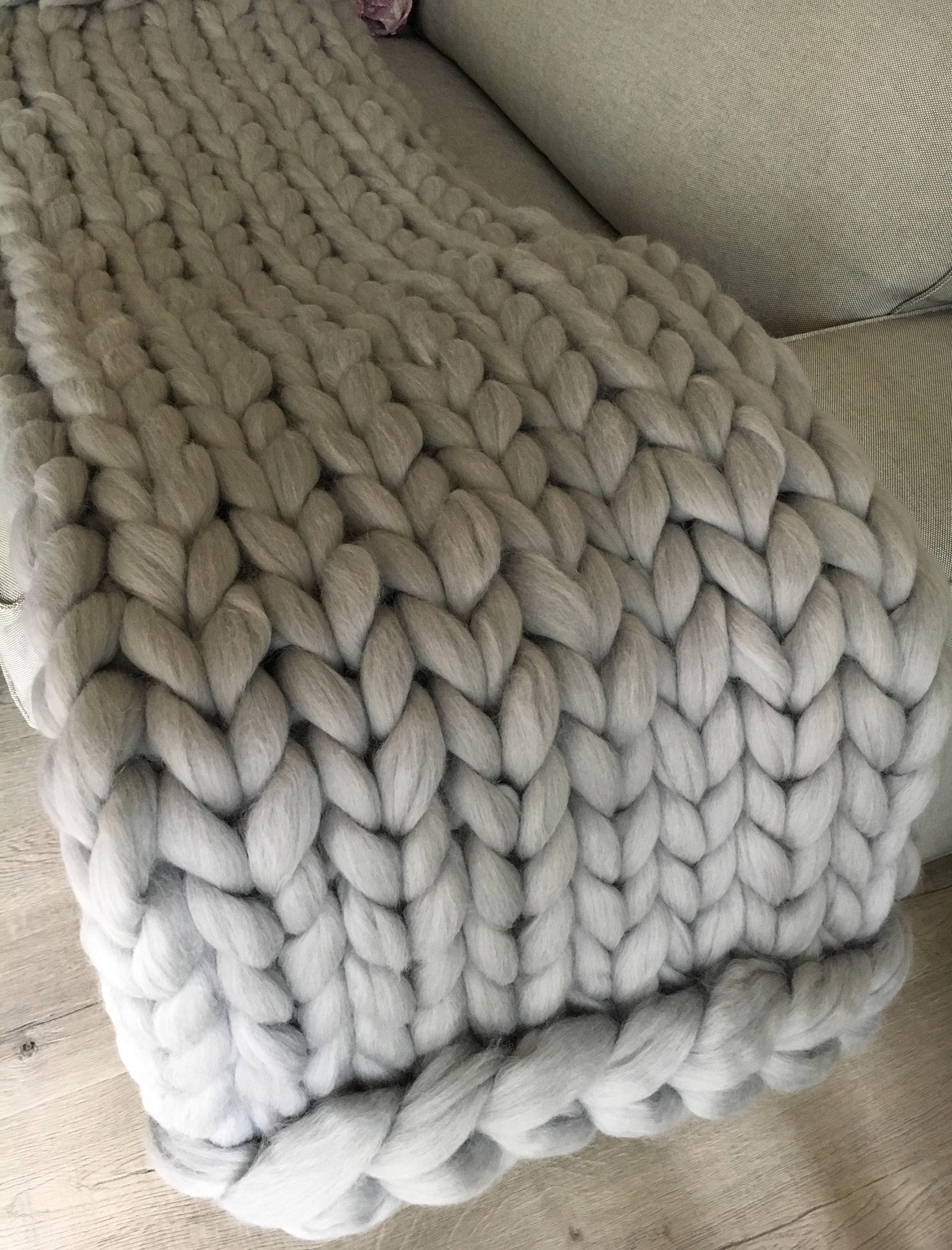 Giant Yarn Blanket Unique Hand Knit Blanket Cable Knitted Throw Chunky Throw Bed Of Unique 44 Images Giant Yarn Blanket