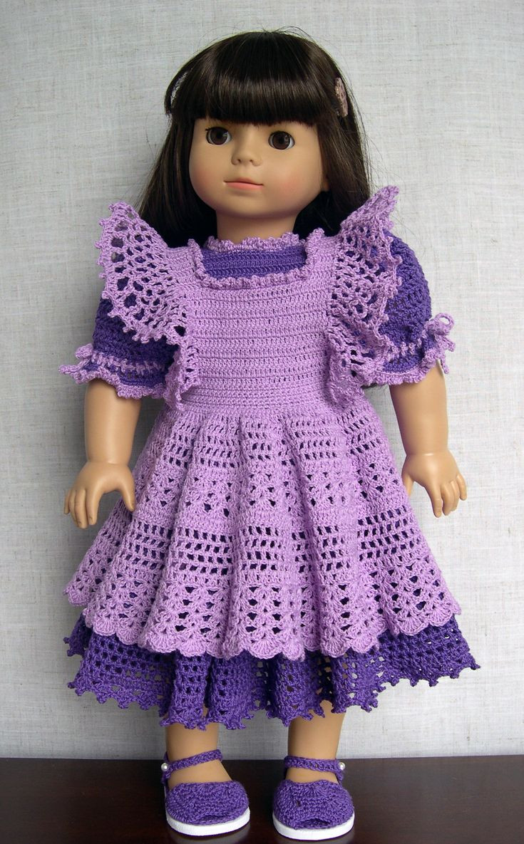 Girl Crochet Dress Luxury 262 Best Images About Knit Crochet Doll Outfits On Of Contemporary 41 Pictures Girl Crochet Dress