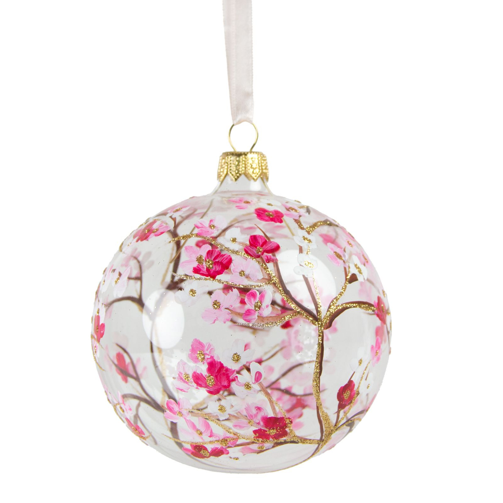 Glass Christmas ornaments Best Of Cherry Blossom Glass ornament Of Incredible 46 Pics Glass Christmas ornaments