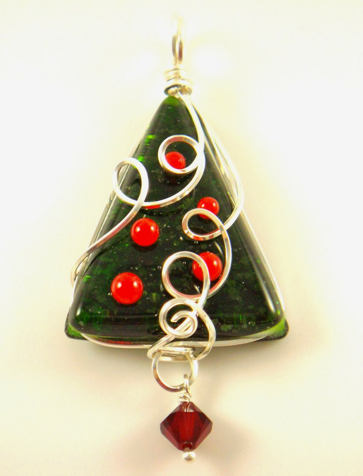 merry christmas new fused glass