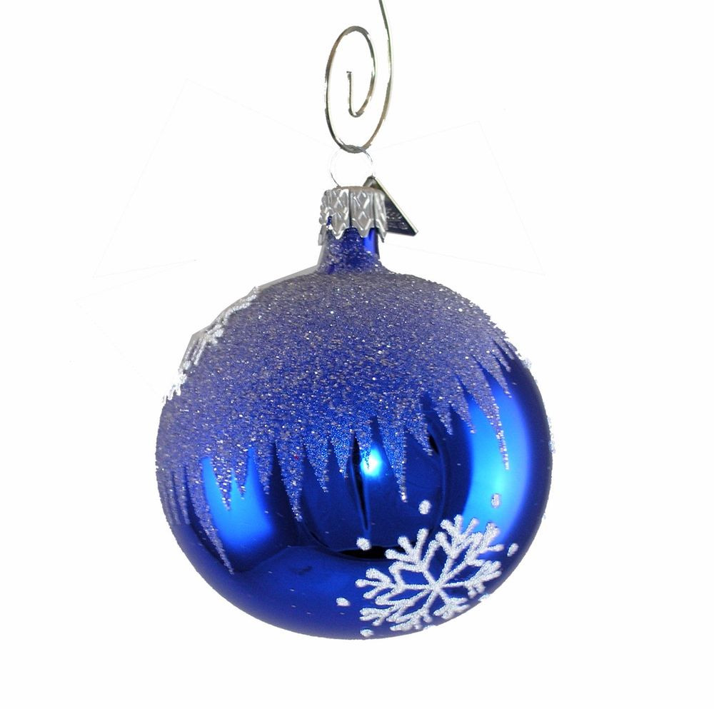 Glass Christmas ornaments Inspirational Blue Snowflake Handcrafted Christmas Ball ornament Of Incredible 46 Pics Glass Christmas ornaments