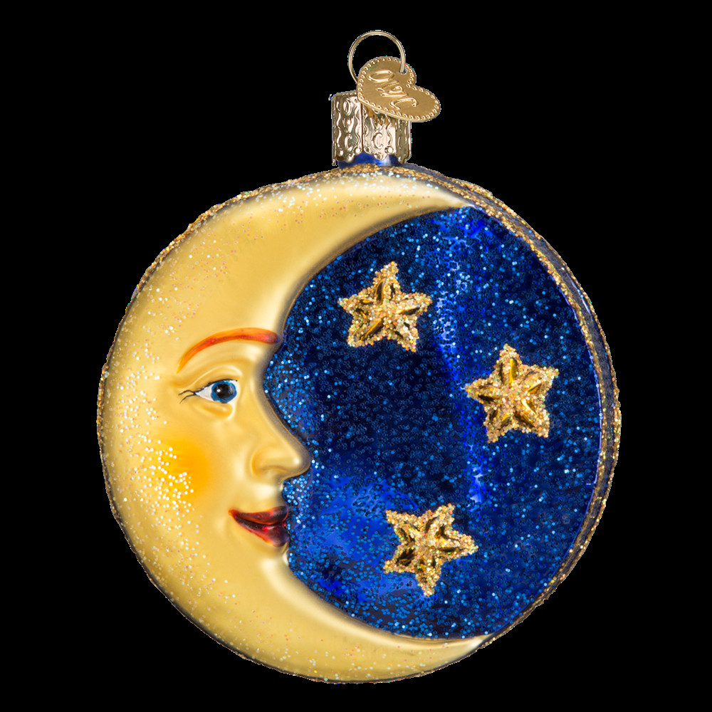 Glass Christmas ornaments Inspirational Man In the Moon ornament Of Incredible 46 Pics Glass Christmas ornaments