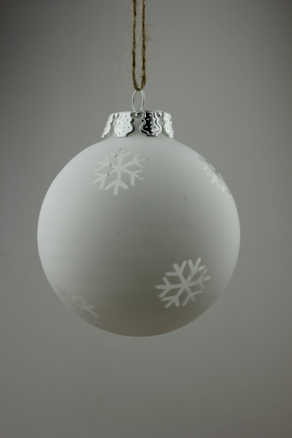 Glass Christmas ornaments Unique Aliexpress Buy New Dia8cm Frosted White Christmas Of Incredible 46 Pics Glass Christmas ornaments