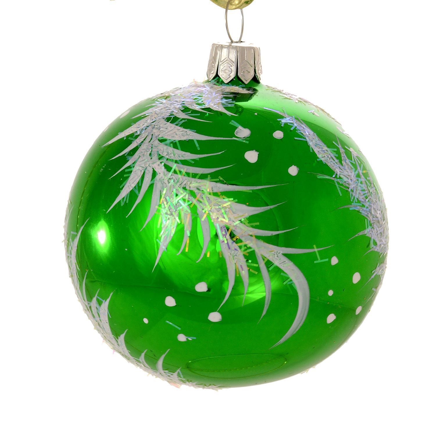 """Glass ornament Balls Awesome Christmas ornaments World """"twig"""" Green Glass Christmas Of Charming 49 Pictures Glass ornament Balls"""