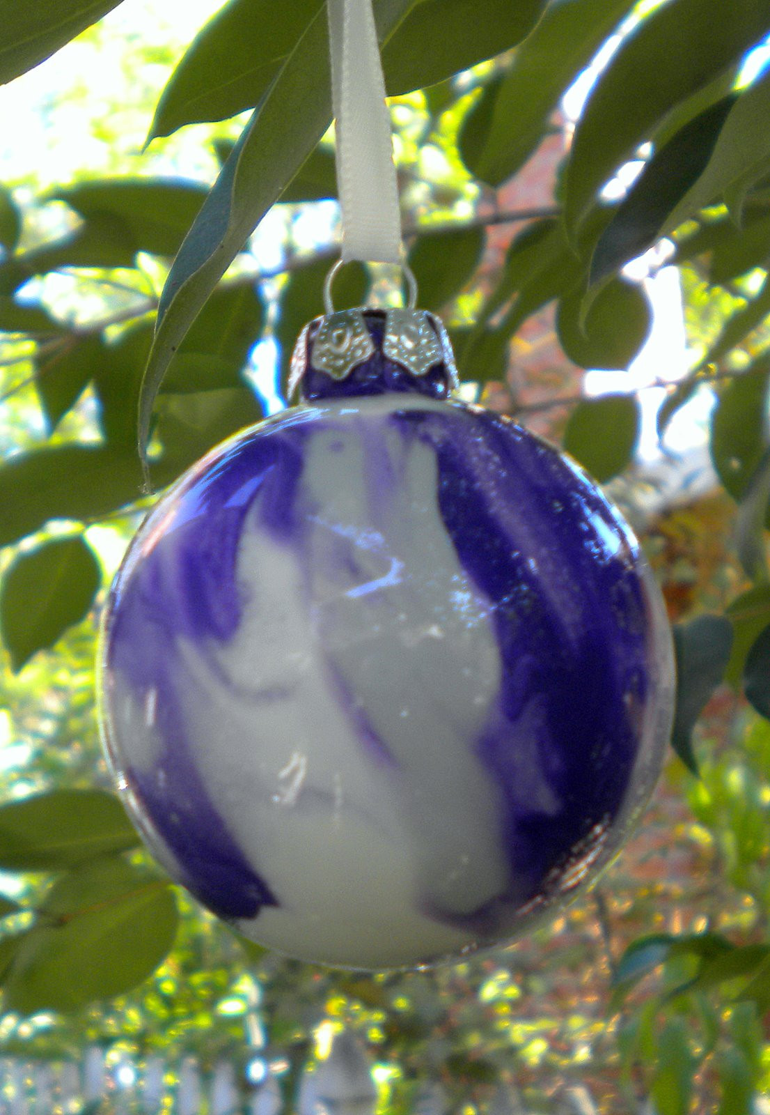 Glass ornament Balls Unique A Yellow Bicycle Pinterest Challenge Painted ornaments Of Charming 49 Pictures Glass ornament Balls
