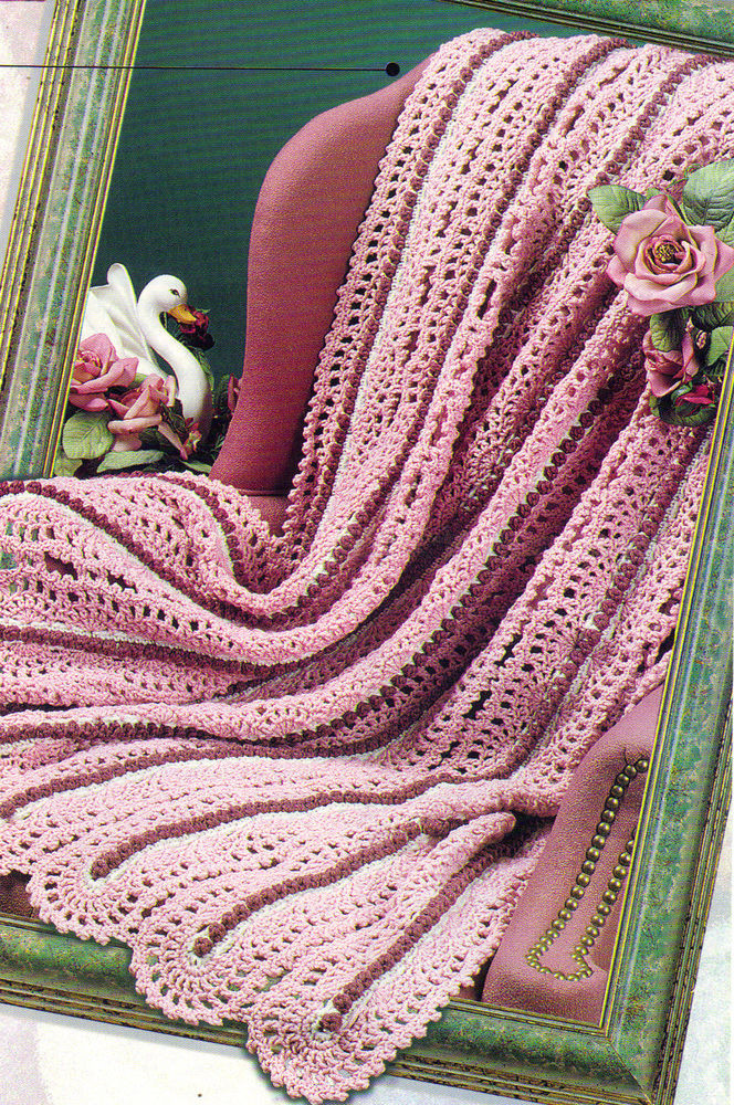 Gorgeous Crochet Afghan Patterns Awesome Beautiful Surface Lace Afghan Crochet Pattern Instructions Of Innovative 49 Pictures Gorgeous Crochet Afghan Patterns