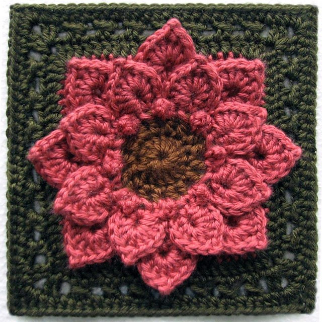 Gorgeous Crochet Afghan Patterns Awesome [free Pattern] Absolutely Gorgeous Dahlia Flower Afghan Of Innovative 49 Pictures Gorgeous Crochet Afghan Patterns