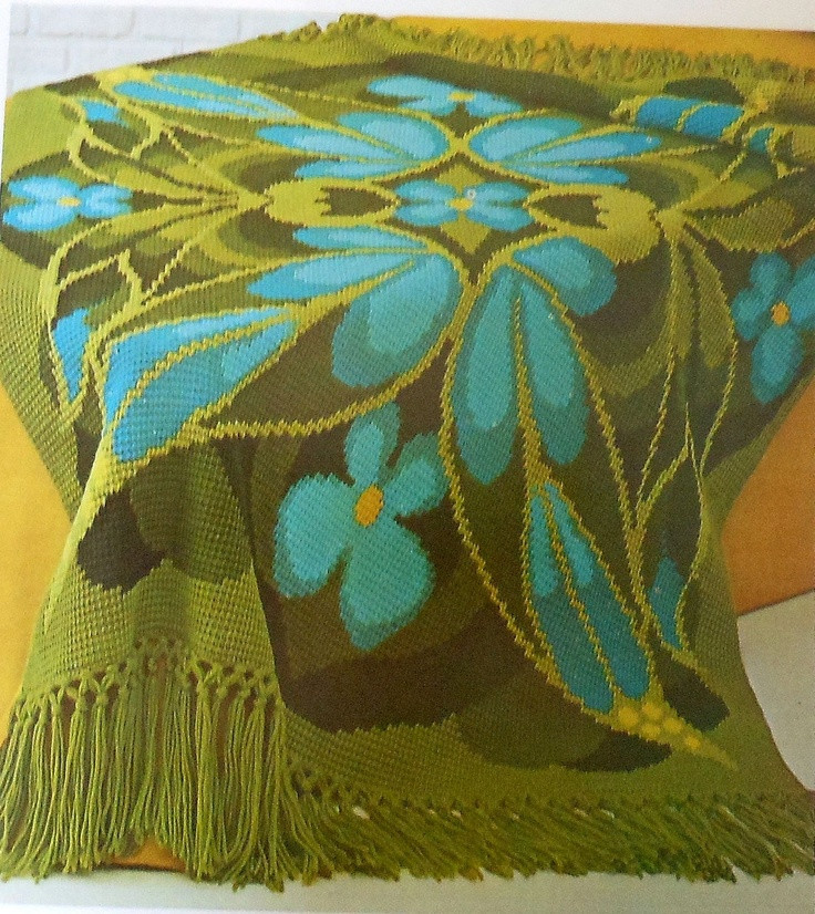 Gorgeous Crochet Afghan Patterns Fresh Retro 70 S butterfly Afghan Crochet Pattern Mod Afghan Of Innovative 49 Pictures Gorgeous Crochet Afghan Patterns