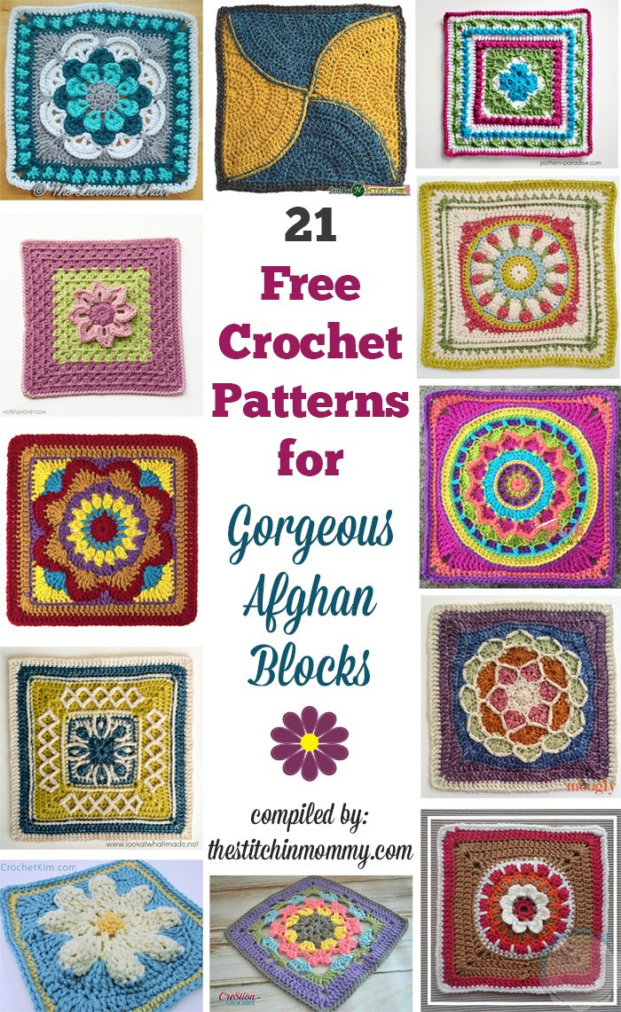 Gorgeous Crochet Afghan Patterns Inspirational 21 Free Crochet Patterns for Gorgeous Afghan Blocks the Of Innovative 49 Pictures Gorgeous Crochet Afghan Patterns