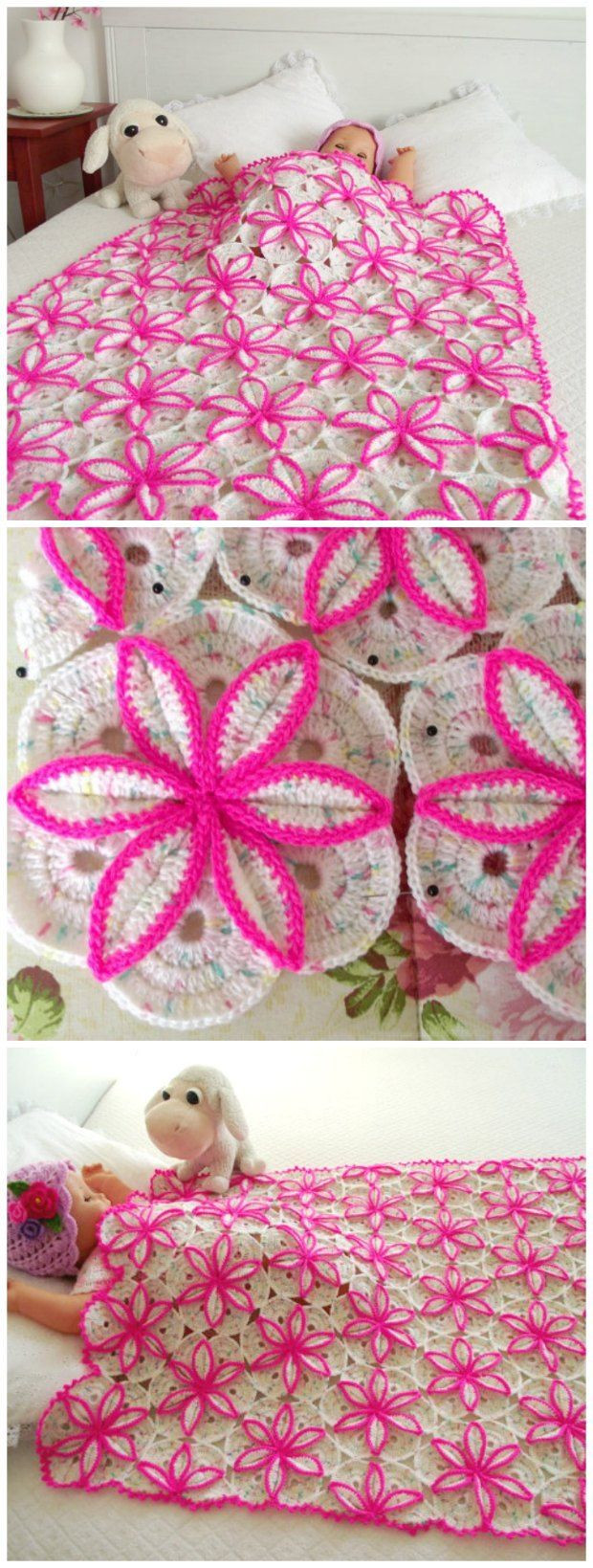 Gorgeous Crochet Afghan Patterns Inspirational Gorgeous Crochet Pattern for This Floral Blanket Pattern Of Innovative 49 Pictures Gorgeous Crochet Afghan Patterns