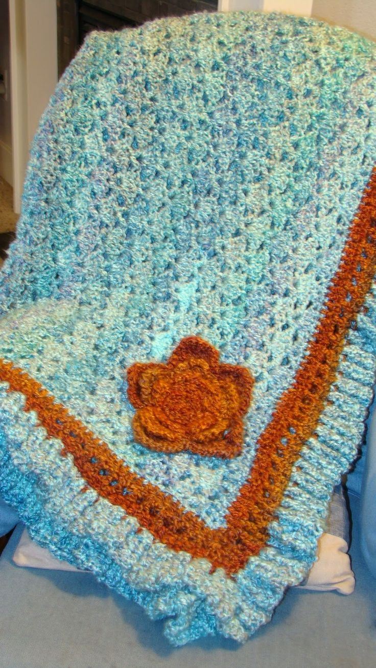 Gorgeous Crochet Afghan Patterns Luxury Turquoise and orange Afghan Free Crochet Pattern Of Innovative 49 Pictures Gorgeous Crochet Afghan Patterns