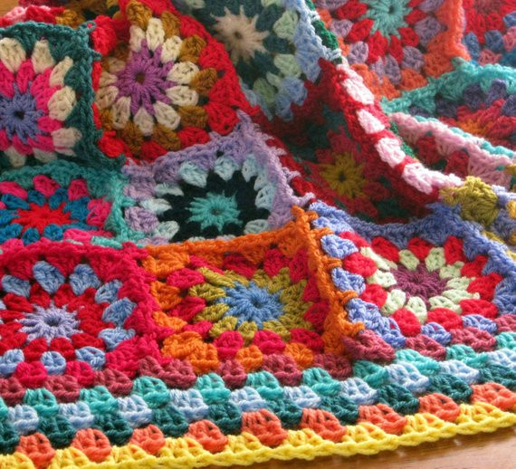 Gorgeous Crochet Afghan Patterns New Crochet Afghan Blanket Gorgeous Sublime Floral by thesunroomuk Of Innovative 49 Pictures Gorgeous Crochet Afghan Patterns
