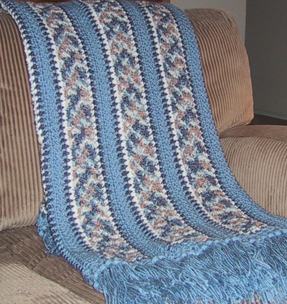 Gorgeous Crochet Afghan Patterns Unique Beautiful Afghan Crocheted Blues & Tans Multicolor Great Of Innovative 49 Pictures Gorgeous Crochet Afghan Patterns