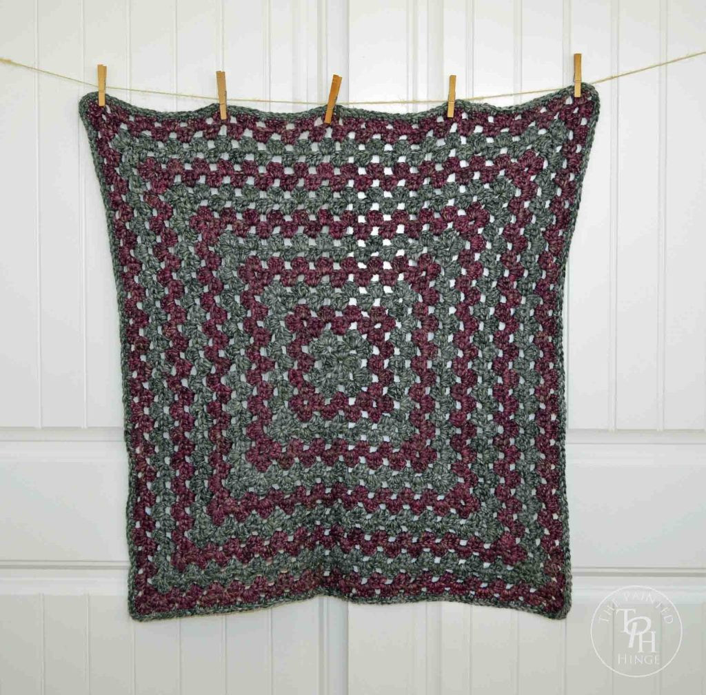 Granny Square Afghan Awesome Bulky Yarn Granny Square Afghan Free Crochet Pattern Of Adorable 50 Pics Granny Square Afghan
