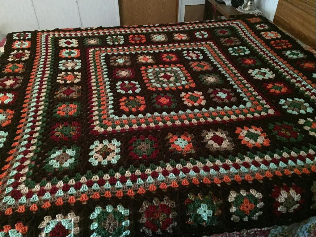 Granny Square Afghan Beautiful You Have to See Granny Square Afghan by Judyannemt Of Adorable 50 Pics Granny Square Afghan