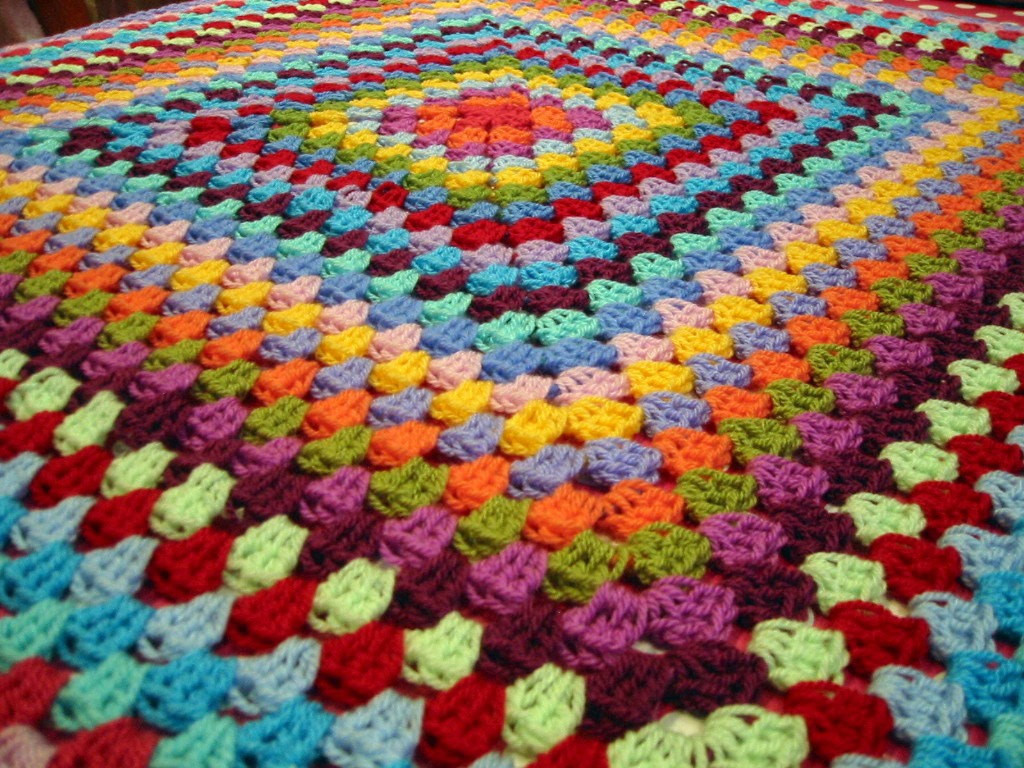 Granny Square Afghan Best Of Crochet Rainbow Afghan Exquisite Granny Square Crocheted Of Adorable 50 Pics Granny Square Afghan