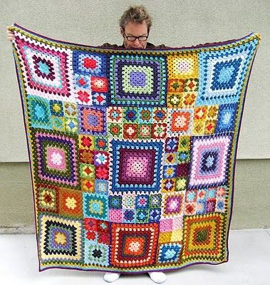 Granny Square Afghan Luxury 25 Best Ideas About Granny Square Afghan On Pinterest Of Adorable 50 Pics Granny Square Afghan