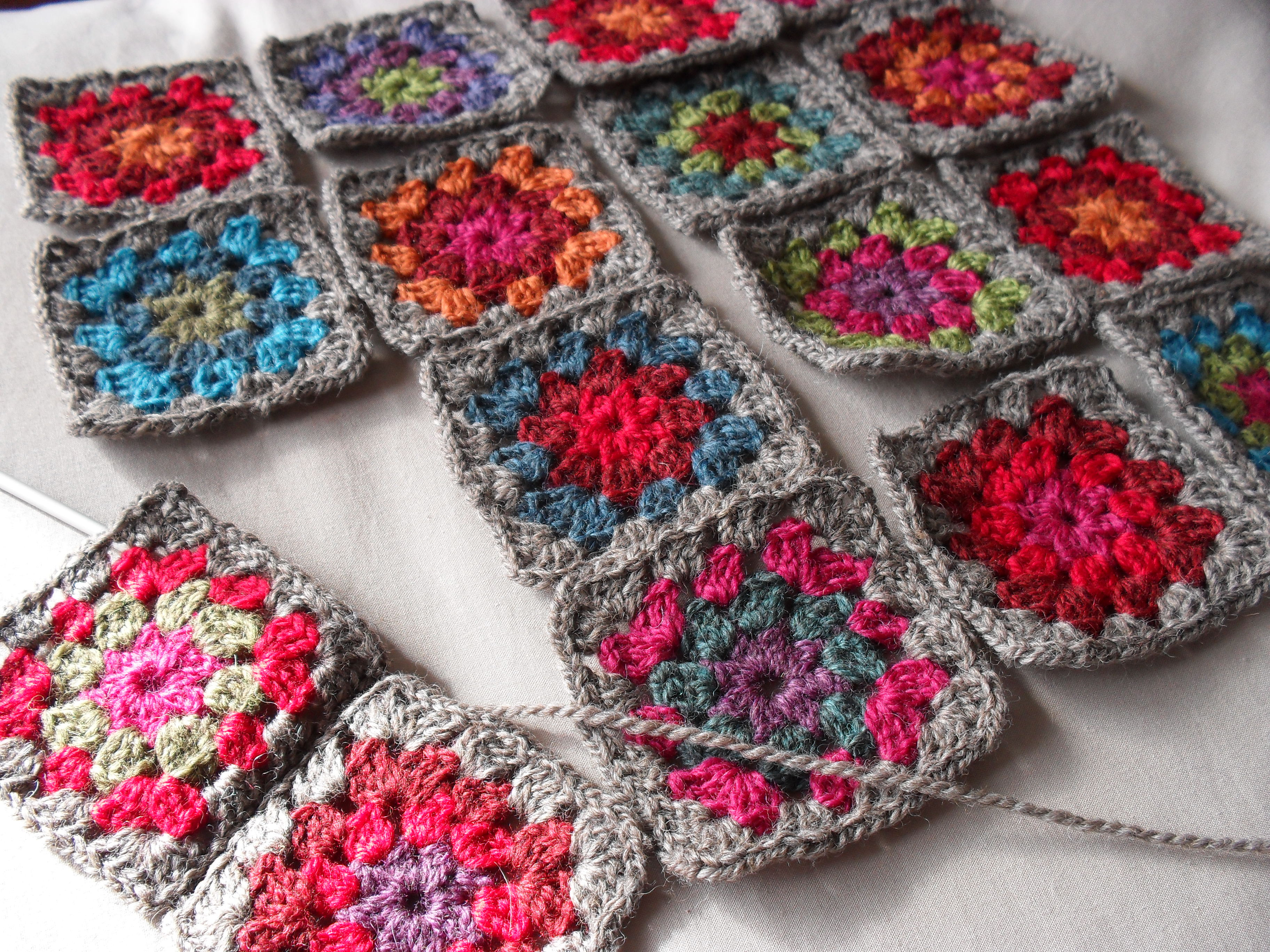 How To Crochet Granny Squares wmperm for