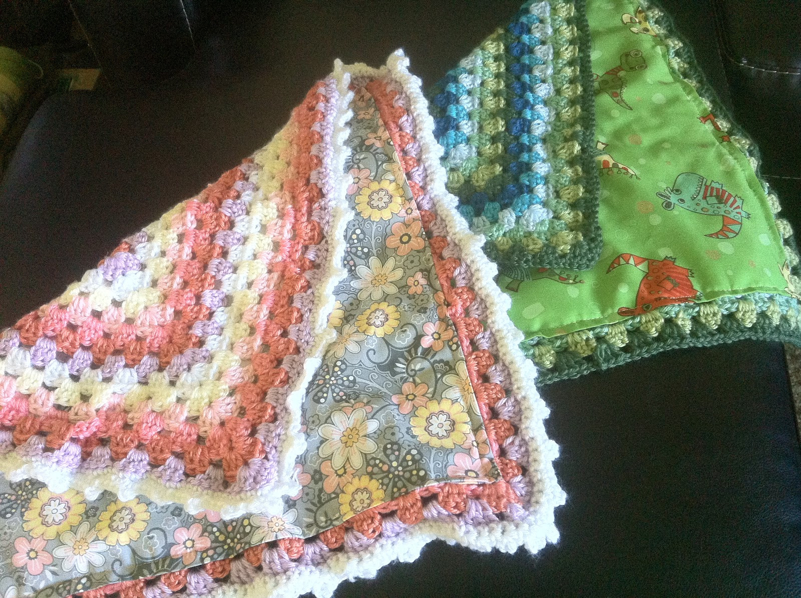 Granny Square Baby Blanket Crochet Pattern Beautiful Make A Lined Granny Lovie for Baby – Allcrafts Free Crafts Of Awesome 40 Pics Granny Square Baby Blanket Crochet Pattern