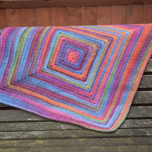 Granny Square Baby Blanket Crochet Pattern Best Of Continuous Granny Square Afghan Pattern Of Awesome 40 Pics Granny Square Baby Blanket Crochet Pattern