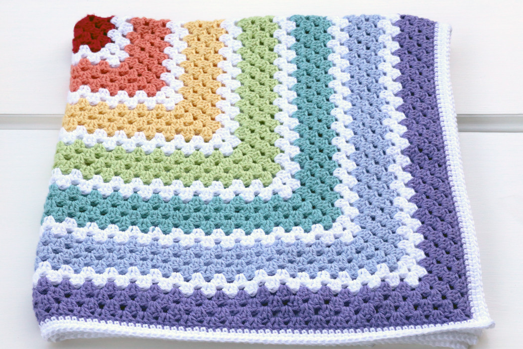 Granny Square Baby Blanket Crochet Pattern Inspirational Granny Square Rug Of Awesome 40 Pics Granny Square Baby Blanket Crochet Pattern