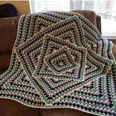 Granny Square Baby Blanket Crochet Pattern Lovely 1136 Best Images About Crochet Afghan Pattern & Idea S Of Awesome 40 Pics Granny Square Baby Blanket Crochet Pattern
