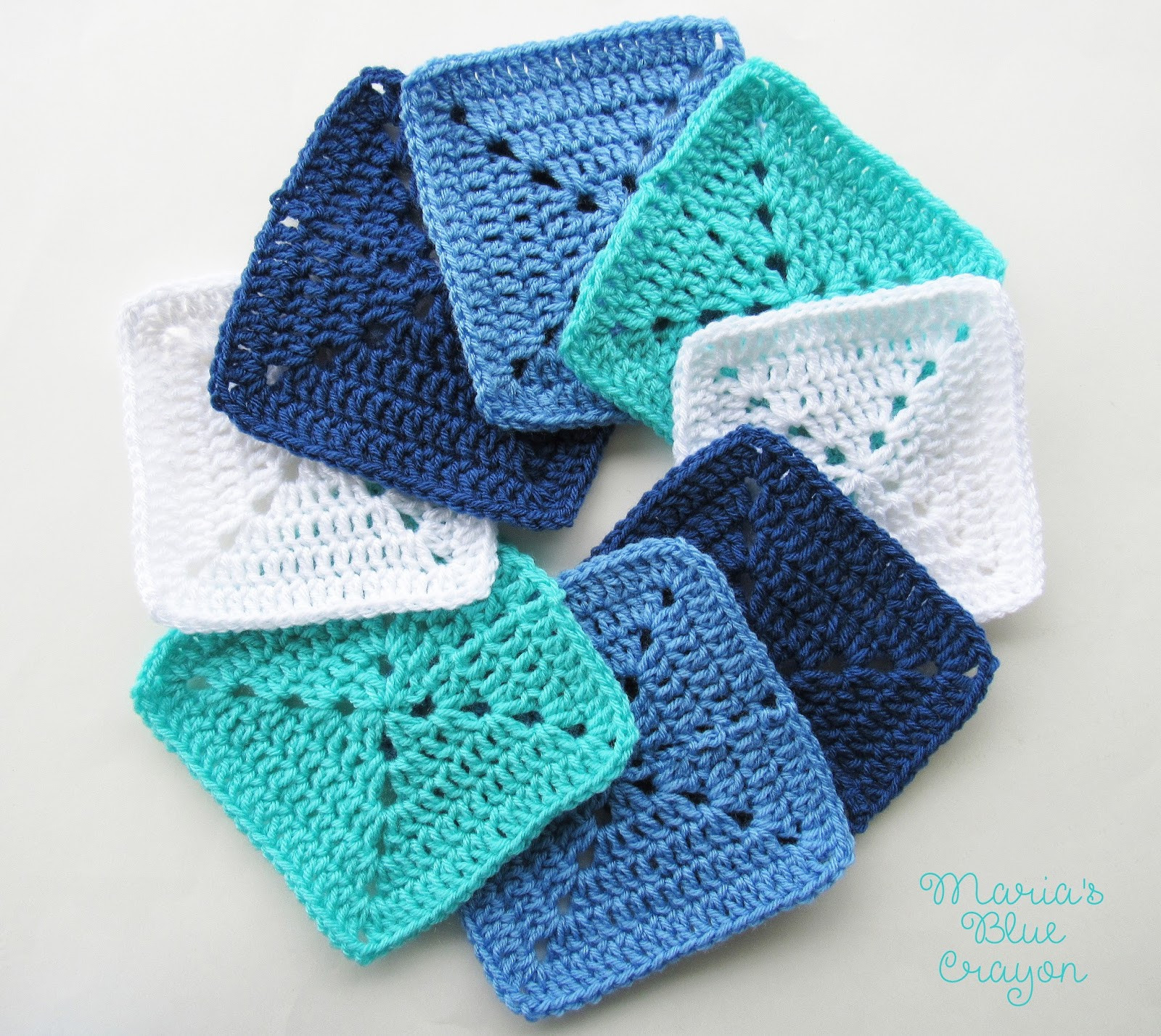 Granny Square Fresh Ocean themed Granny Square Afghan Series Crochet Pattern Of Gorgeous 45 Photos Granny Square
