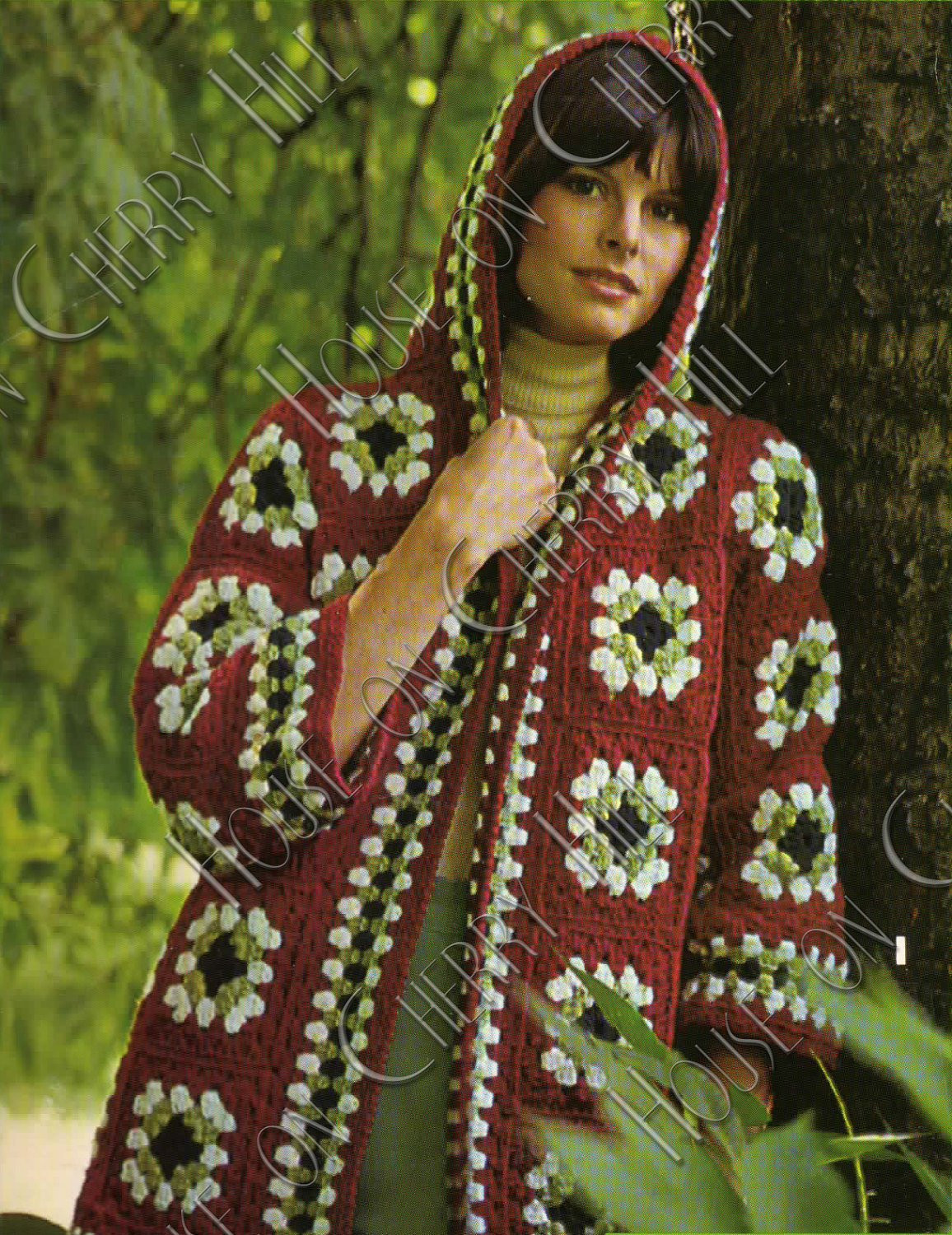 Granny Square Jacket Best Of Instant Download Granny Square Jacket Hooded by Of Marvelous 46 Models Granny Square Jacket