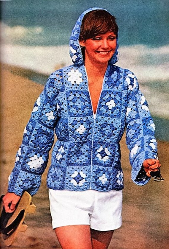 Granny Square Jacket Luxury Crochet Granny Square Hooded Jacket Pattern by Of Marvelous 46 Models Granny Square Jacket