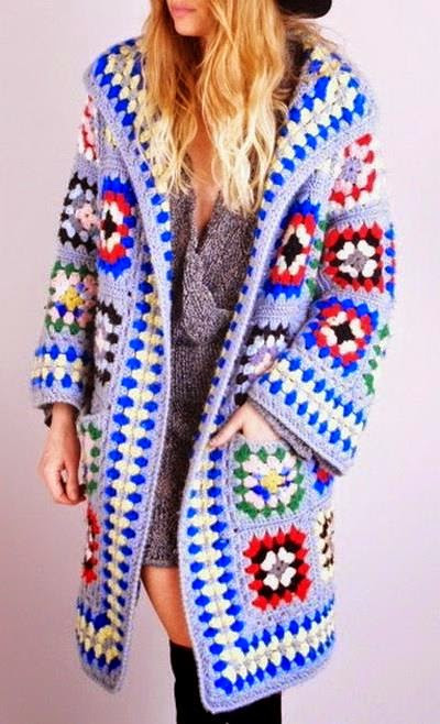 Granny Square Jacket New Crochet Sweaters Crochet Pattern Of Cardigan Jacket or Of Marvelous 46 Models Granny Square Jacket