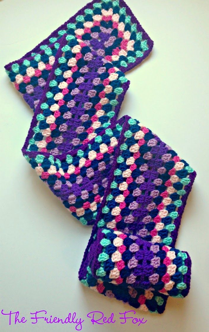 Granny Square Scarf Best Of 25 Best Ideas About Granny Square Scarf On Pinterest Of Unique 47 Pictures Granny Square Scarf