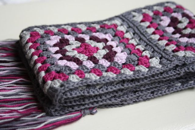 Granny Square Scarf Fresh 25 Best Ideas About Granny Square Scarf On Pinterest Of Unique 47 Pictures Granny Square Scarf