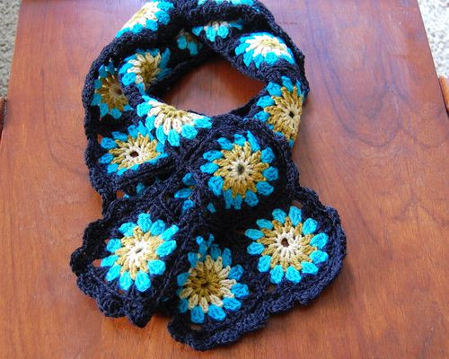 Granny squares Step by step tutorial with pictures