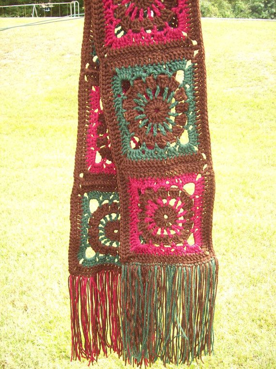 Granny Square Scarf New 1000 Images About Granny Square Scarves On Pinterest Of Unique 47 Pictures Granny Square Scarf