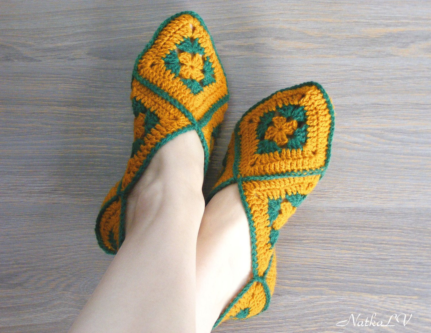 Granny Square Slippers Awesome Crochet Woman S Slippers Home Shoes Granny Square Of Fresh 41 Ideas Granny Square Slippers
