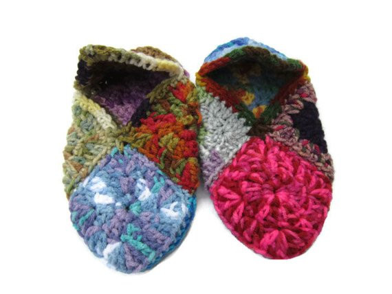 Granny Square Slippers Best Of Crochet Granny Square Slippers Size Small to Medium Of Fresh 41 Ideas Granny Square Slippers