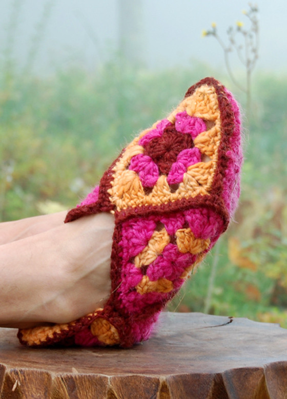 Granny Square Slippers Best Of Free Crochet Patterns 16 Ways with Granny Squares Of Fresh 41 Ideas Granny Square Slippers