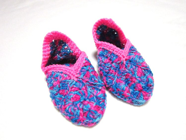 Granny Square Slippers Luxury Granny Square Slippers Size Small Pink and by Of Fresh 41 Ideas Granny Square Slippers