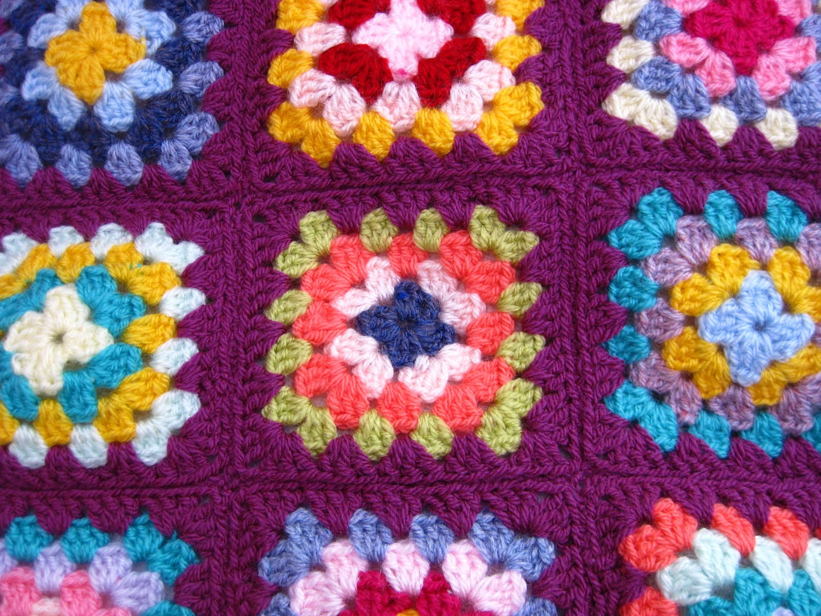 Granny Square Unique Bunny Mummy Sewing Granny Squares to Her Of Gorgeous 45 Photos Granny Square