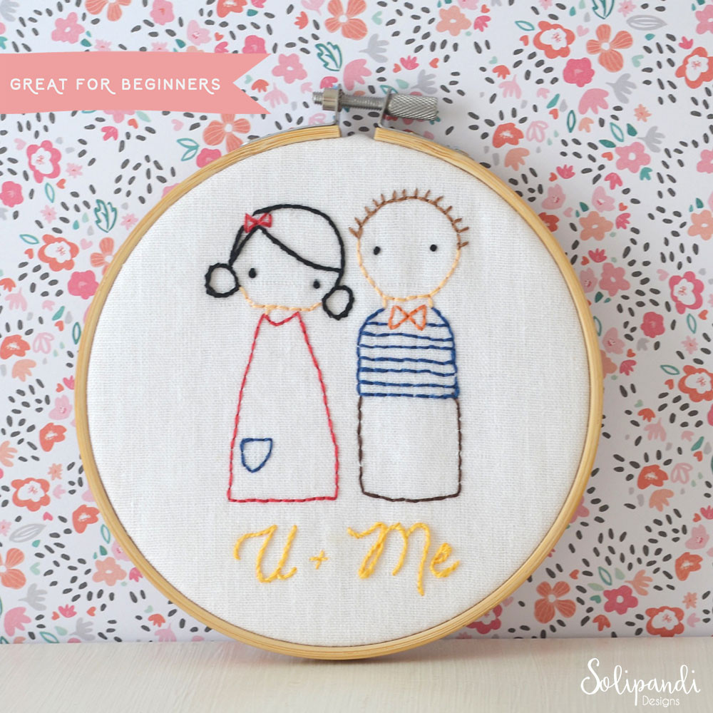 Hand Embroidery Patterns Elegant U Me Sweet Couple Hand Embroidery Pdf Pattern Of Adorable 44 Pictures Hand Embroidery Patterns