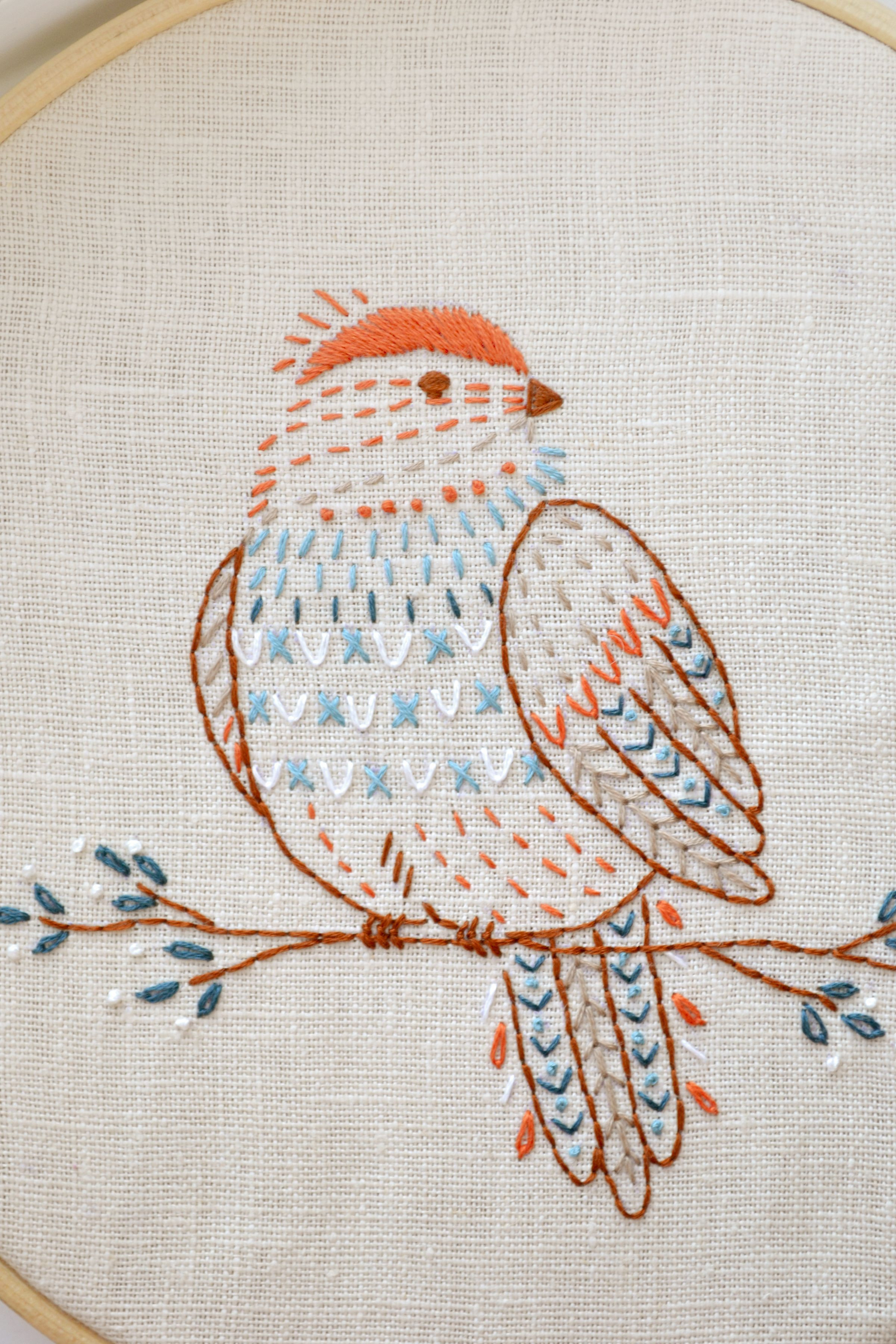 Hand Embroidery Patterns Luxury Bird Hand Embroidery Pattern Pdf 6 Pages Naiveneedle Of Adorable 44 Pictures Hand Embroidery Patterns