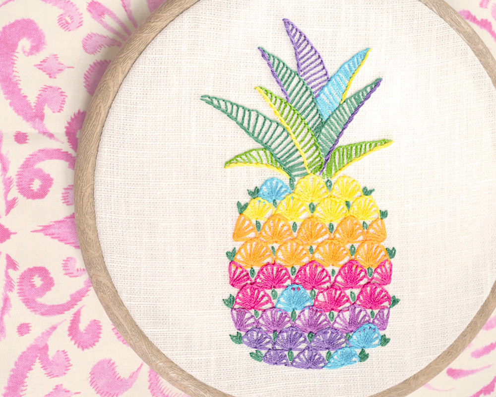 Hand Embroidery Patterns Unique Pineapple Hand Embroidery Patterns Modern Hand Embroidery Of Adorable 44 Pictures Hand Embroidery Patterns
