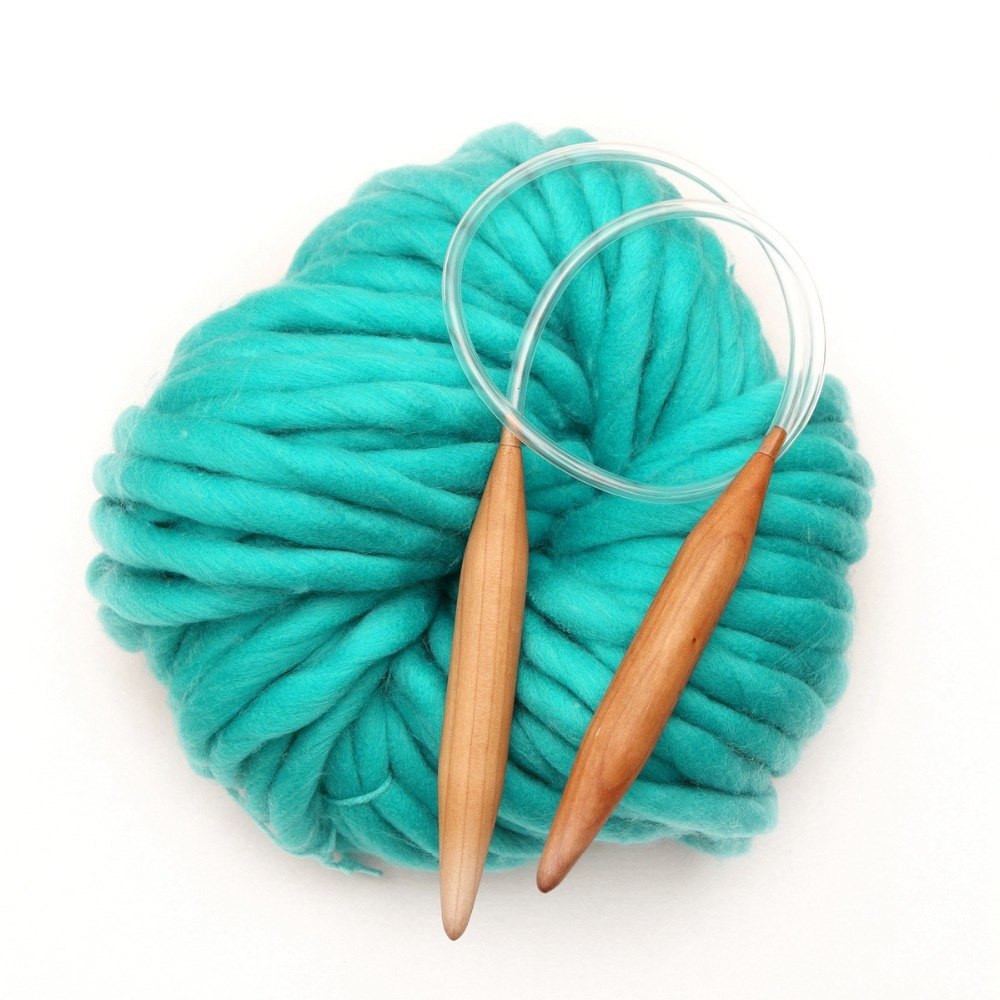 500g lot Super Thick Blended Chunky Hand Knitting Roving
